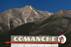 Comanche Cinema - images of Mt Princeton