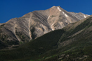 Peak of Mt Princeton