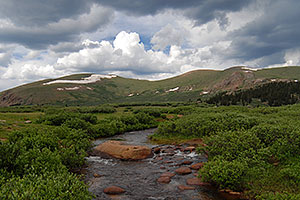 Scott Gomer Creek by Mt Bierstadt