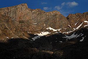 The Sawtooth with highest peak at 13,780 ft