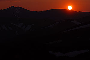 Sunset at Guanella Pass