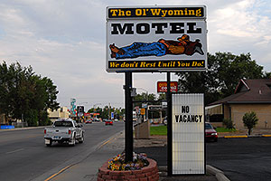 The Ol` Wyoming Motel - We don`t rest until you do!