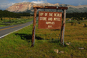 Top of the World - Store and Motel, Supplies, Gas - along Beartooth Pass Highway