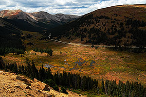 View towards Aspen from Independence Pass