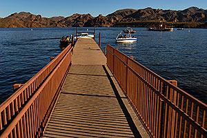 Pier at Saguaro Lake