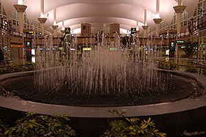 Fountain at Denver Airport