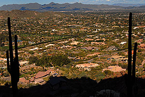 View North from Camelback Mountain in Phoenix