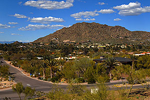 View North by Camelback Mountain in Phoenix