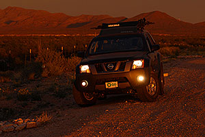 Xterra near Saguaro National Park
