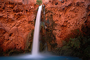 Mooney Falls - 210 ft drop (64 meters)