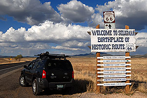 Welcome to Seligman, Birthplace of Historic Route 66