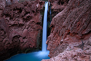 Morning at Mooney Falls - 210 ft drop (64 meters)