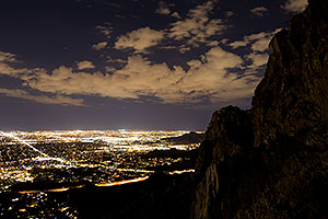 Night at Squaw Peak