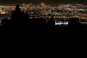 View from Squaw Peak south at Phoenix