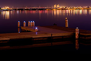 Night at Tempe Town Lake