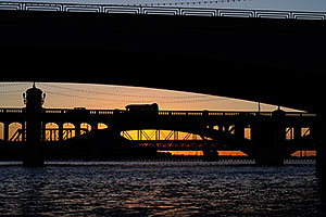 Mill Road bridge over Tempe Town Lake