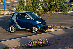 Smart Car at Tempe Town Lake