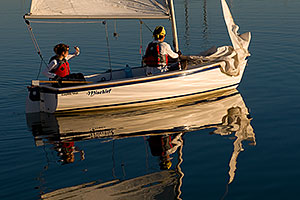 Mischief Sailboat - Capri 14.2 - at Tempe Town Lake