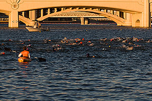 1 minute into the race - Splash and Dash Fall #6, November 15 2008 at Tempe Town Lake