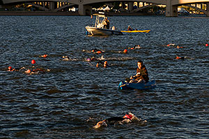 10 minutes into the race - Splash and Dash Fall #6, November 15 2008 at Tempe Town Lake