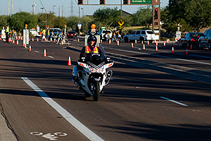 Police support at Arizona Ironman 2008