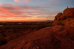 Sunset at Papago Park