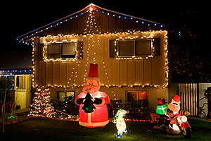 Christmas houses in Tempe