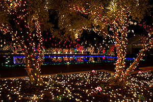 Christmas Lights by Mesa Arizona Temple