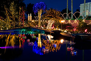Christmas Lights at Mesa Arizona Temple