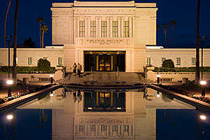 Mesa Temple west side