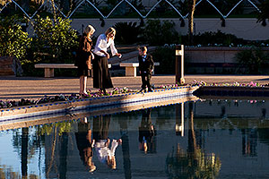 People at Mesa Arizona Temple