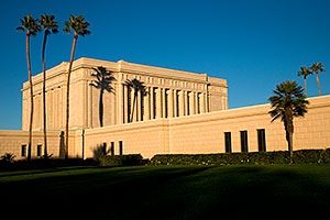 West side of Mesa Arizona Temple
