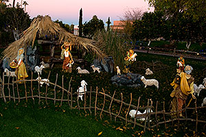 Display by Mesa Arizona Temple