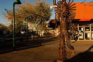 Dancing Figure #2 on Main St in Mesa