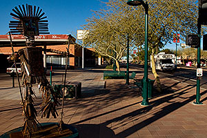 Dancing Figure #1 on Main St in Mesa