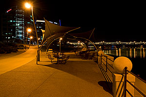 By Lakeside Ferry at Tempe Town