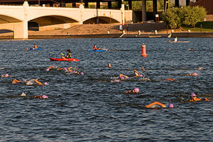 00:38:46 - Swimmers at Nathan Triathlon
