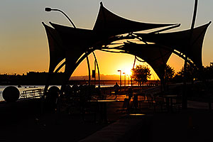 6:27am Sunrise at Tempe Town Lake
