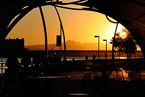 6:30am Sunrise at Tempe Town Lake