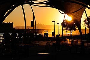 6:31am Sunrise at Tempe Town Lake