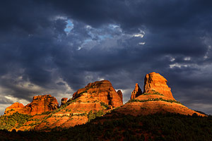 Monsoon season in Sedona