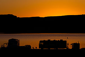 Before sunrise at Lake Powell