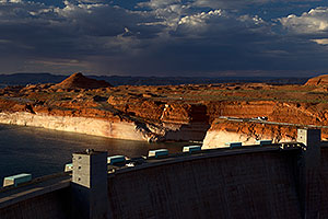 Bryce Canyon Dam of Lake Powell