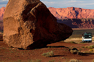 Red Rocks near Cliff Dwellers at Vermilion Cliffs