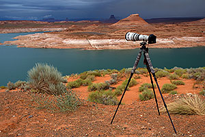 500mm f/4 CPS lens at Lake Powell