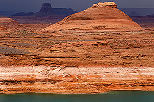 Red rocks at Lake Powell