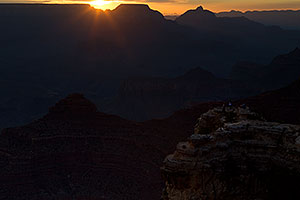 Sunrise in Grand Canyon