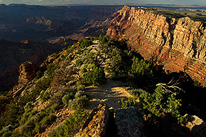 Images of Grand Canyon with Colorado River in the background