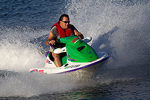 Jetskiing at Lake Havasu