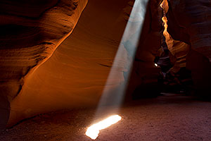 Light Beam in Upper Antelope Canyon